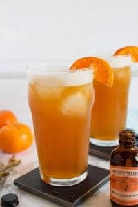 Orange Bourbon Beer Cocktail