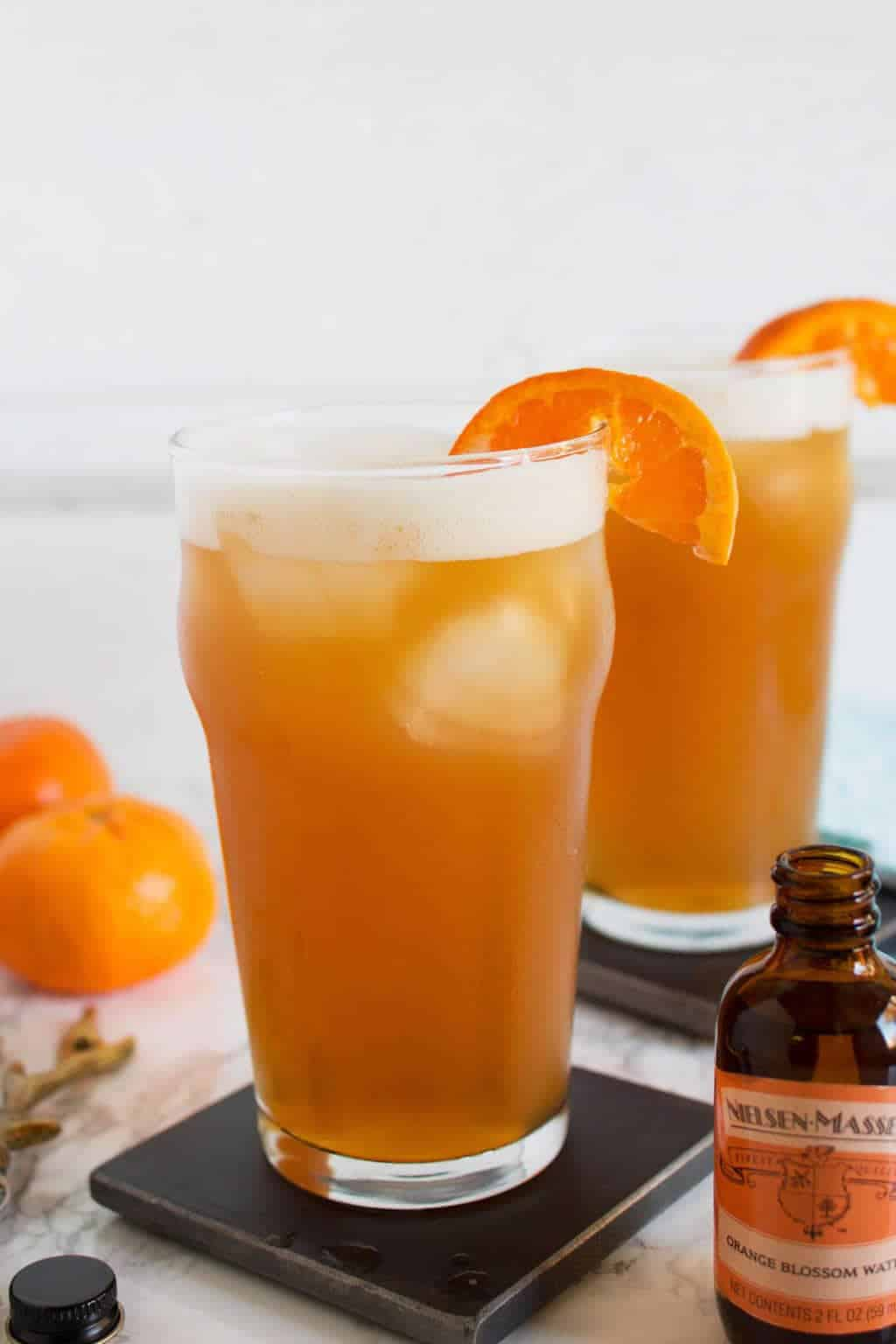 Orange bourbon beer cocktail summer drink idea for Cocktail orange