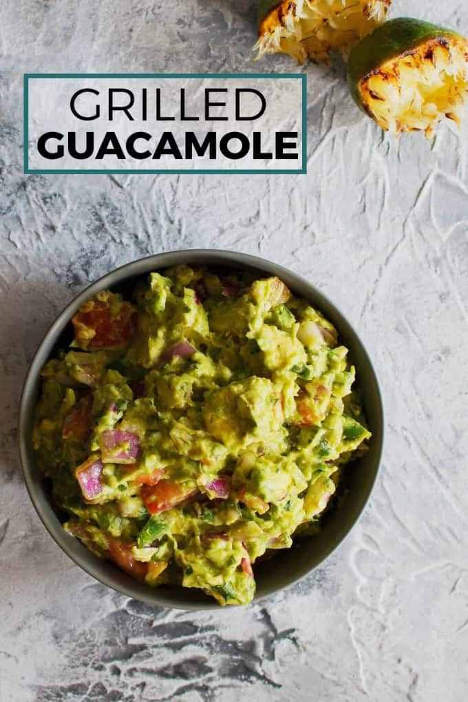 grilled guacamole pinterest image