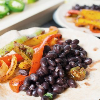 This recipe for vegan black bean fajitas will have you changing your mind about vegan food. Not only is it delicious and filling, it's also better for you!