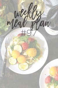 Weekly Family Meal Plan #97