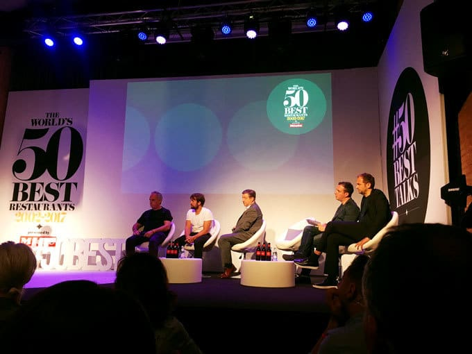 Ferran Adrià, René Redzepi, Joan Roca, Massimo Bottura and Daniel Humm