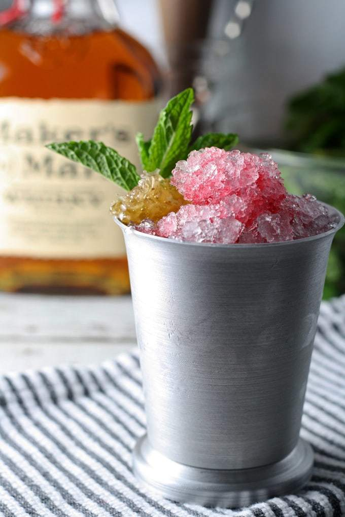 Best Honey Recipes - Hibiscus Honey Mint Julep