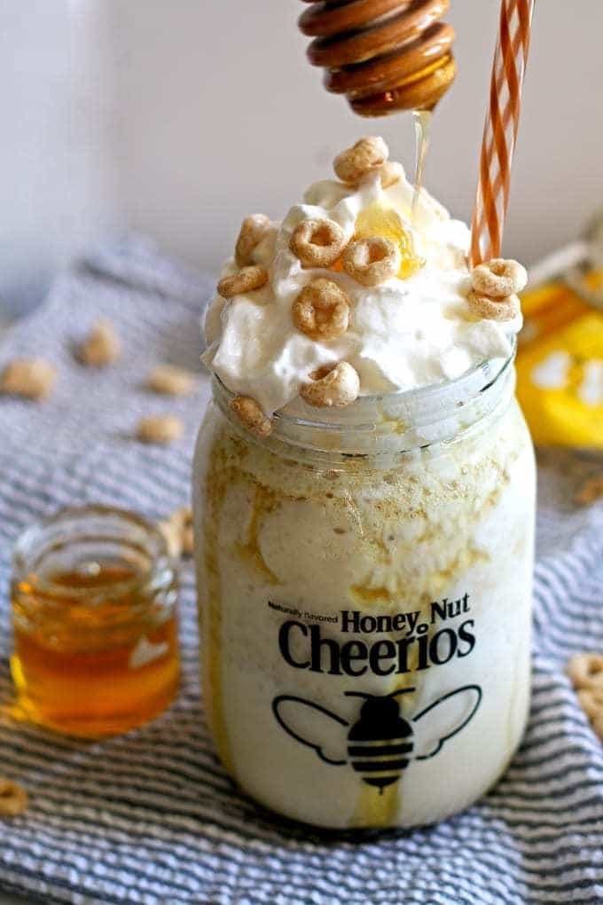 Best Honey Recipes - Honey Nut Cheerios Milkshake