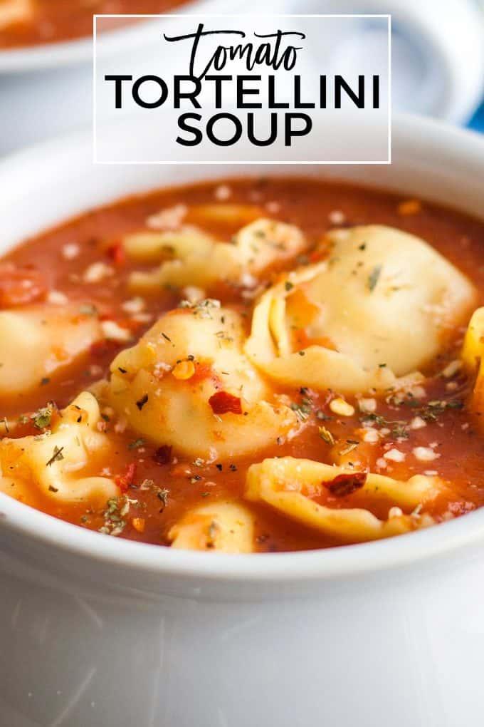 tomato tortellini soup pinterest image