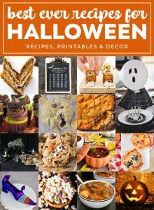 Halloween Party Meal Plan