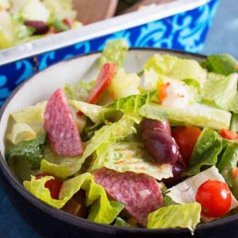 Easy Antipasto Salad