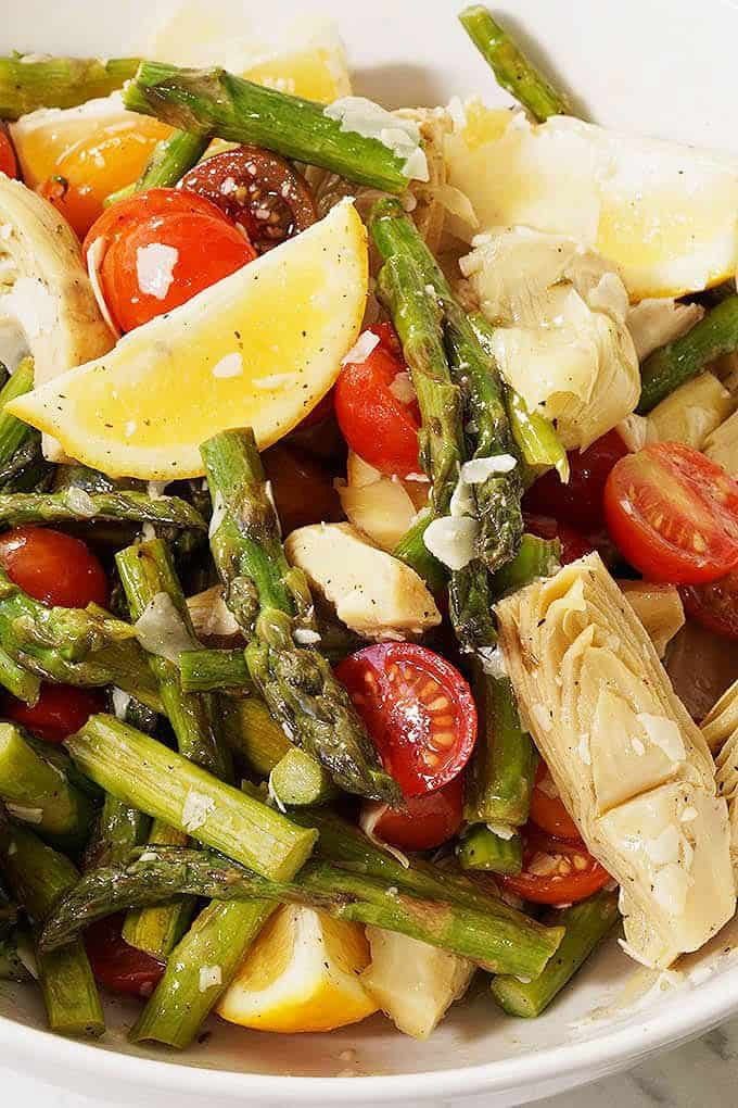 picture of Asparagus and Cherry Tomato Salad