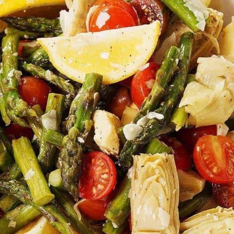 Asparagus and Cherry Tomato Salad