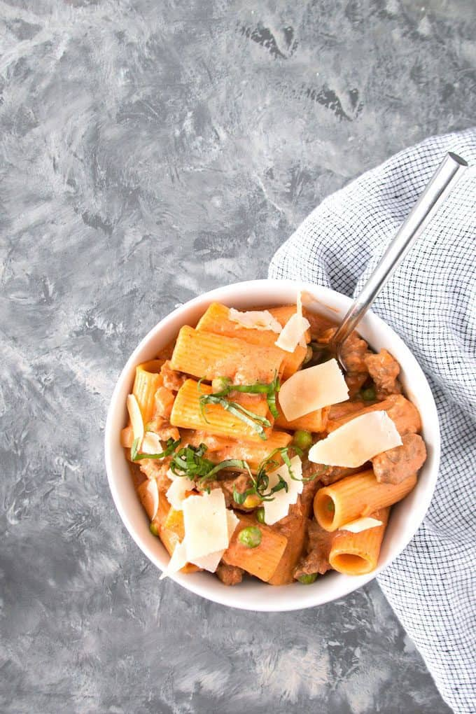 picture of country-style rigatoni