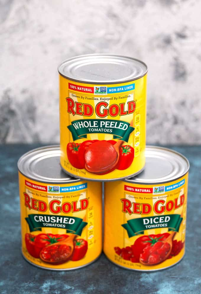 tower of red gold tomatoes products