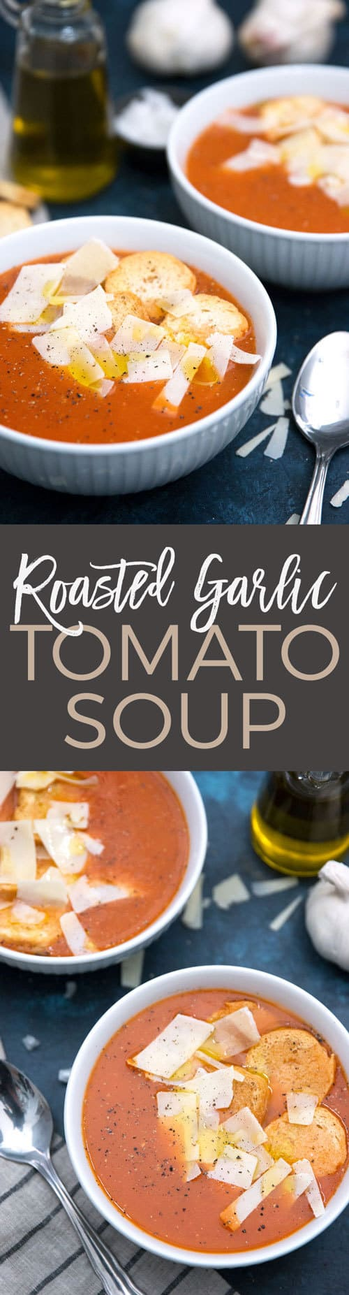 Roasted Garlic Tomato Soup pin
