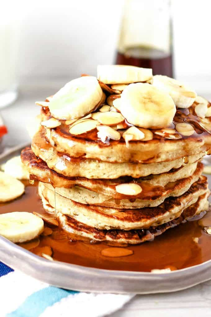 almond banana pancake recipe