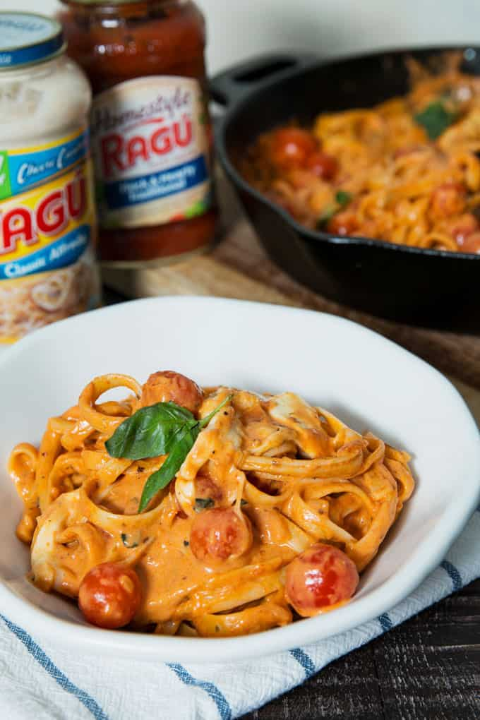 picture of Rosa Chicken Caprese Pasta