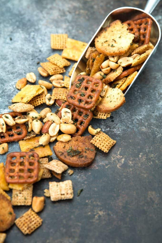 picture of ranch snack mix