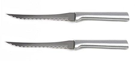 Rada MFG Rada Cutlery Tomato Slicer, Aluminum Handle, 2 Pack