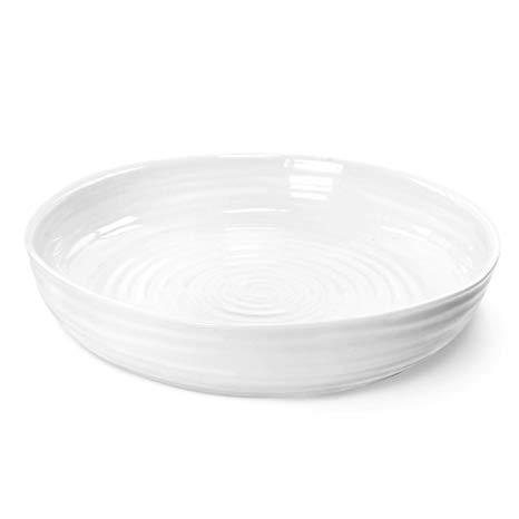 White Round Roasting Dish