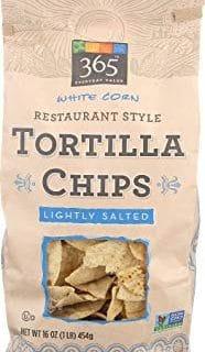 White Corn Restaurant Style Tortilla Chips