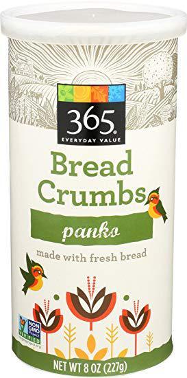 365 Everyday Value, Panko Bread Crumbs, 8 oz