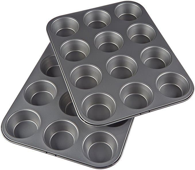 Nonstick Carbon Steel Muffin Pan - 2-Pack