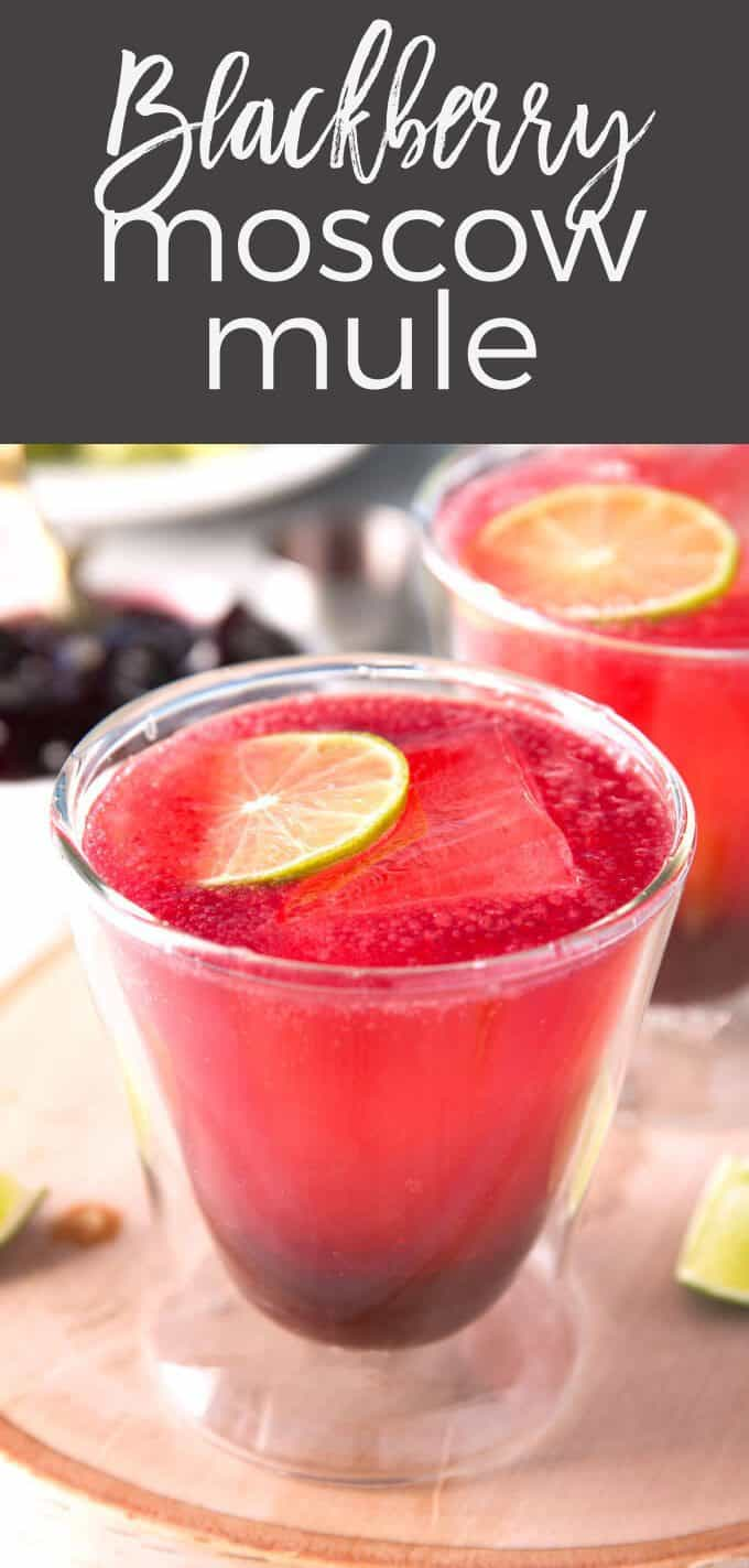 short blackberry Moscow mule pin