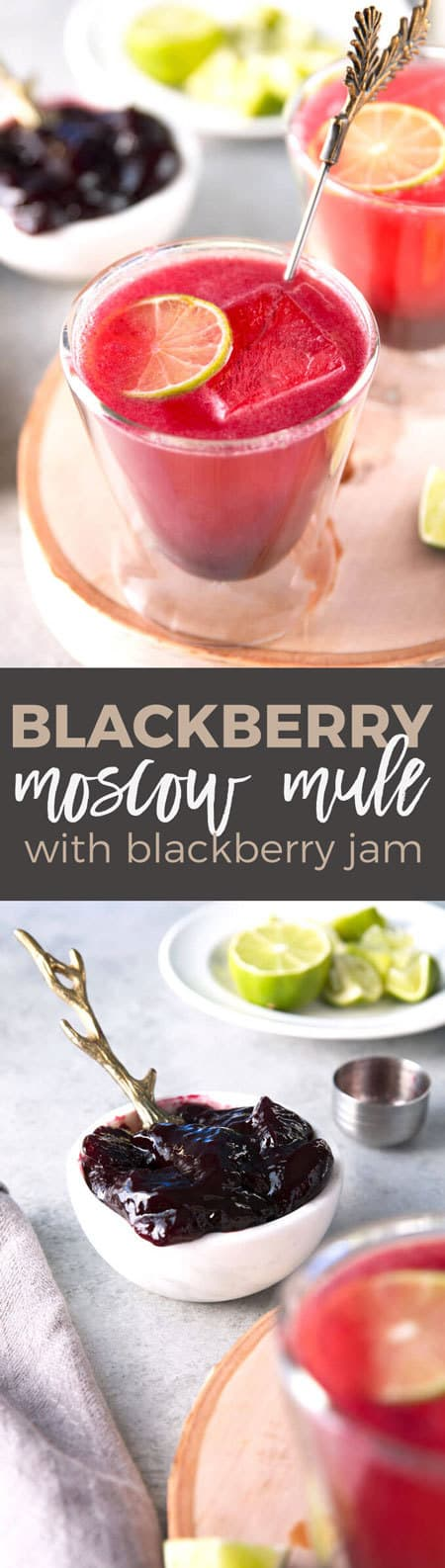 long blackberry Moscow mule pin
