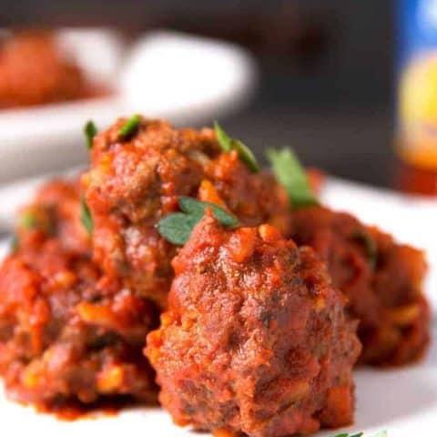 Braised Porcupine Meatballs