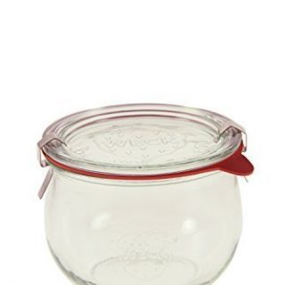 Weck 744 1/2L Tulip Jar Set of Six - 16.9 Ounce