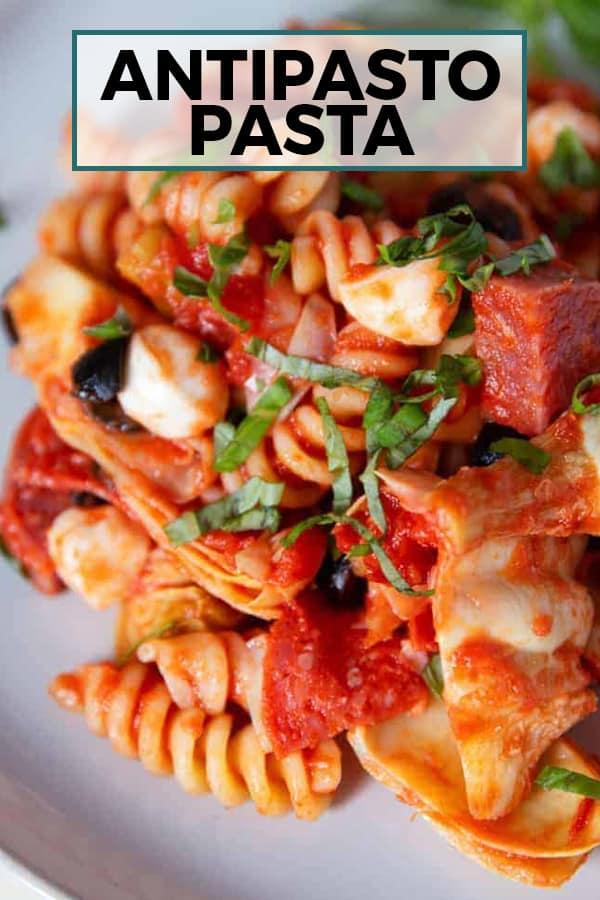antipasto pasta pinterest image