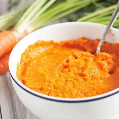 Ginger Mashed Carrots
