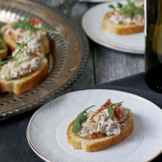 Tuna Bacon Crostini