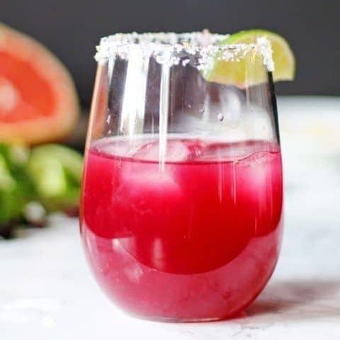 Grapefruit Hibiscus Margarita