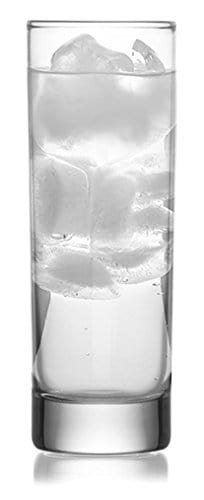 Collins Slim Water/Beverage Glasses, 10 Ounce - Set of 6