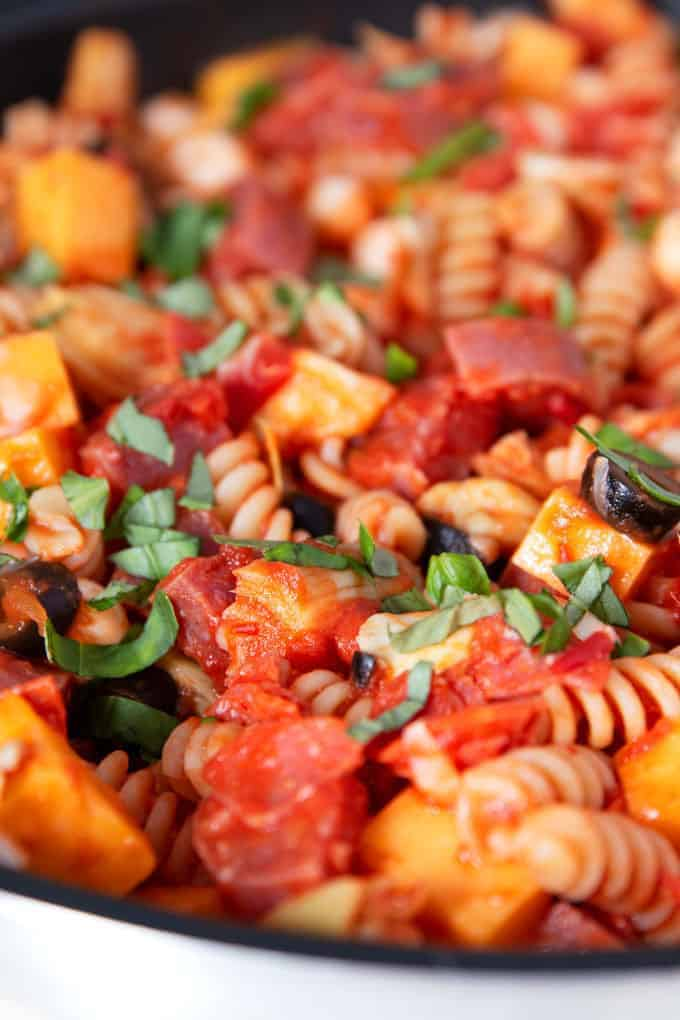 18 Easy Pasta Dinner Recipes - Antipasto Pasta