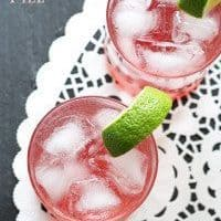 Raspberry Gin Spritzer