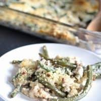 Gorgonzola Green Bean Casserole