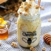 Honey Nut Cheerios Milkshake Recipe
