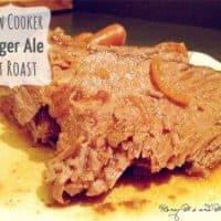 Slow Cooker Ginger Ale Pot Roast