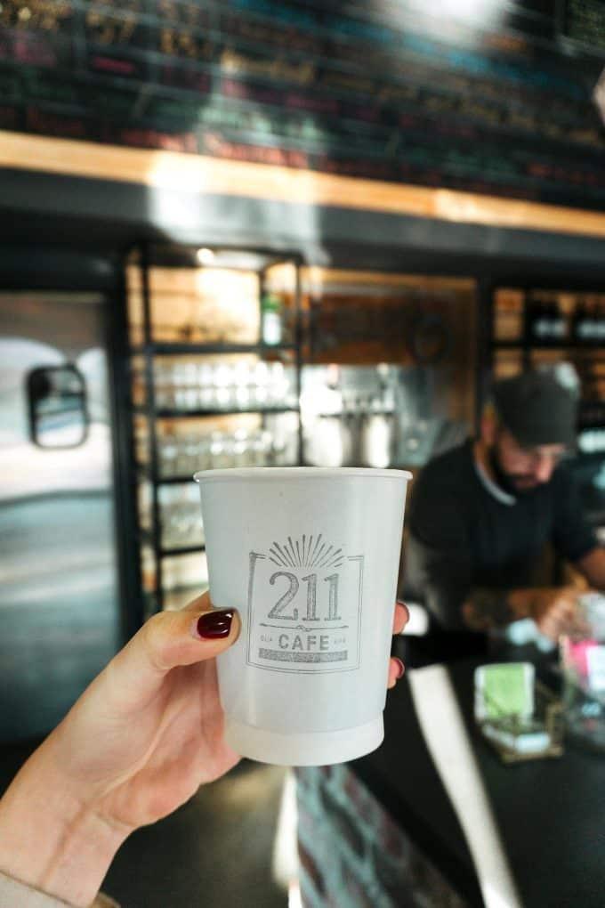 211 Cafe in Bentonville