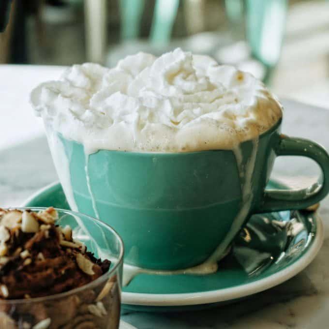 Markham and Fitz hot white chocolate