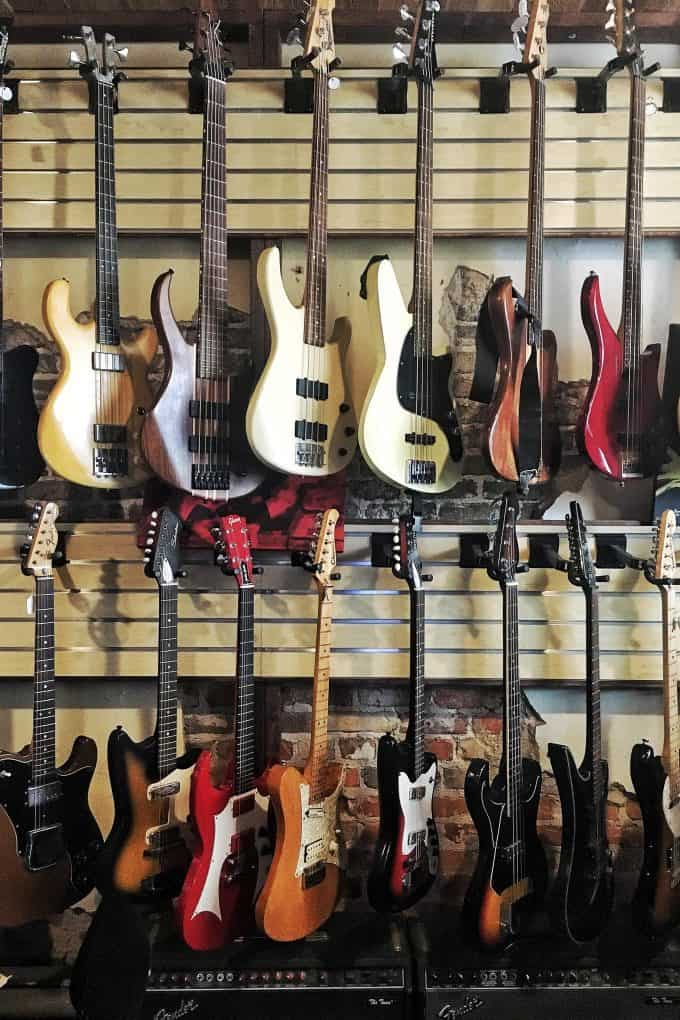 Guitars for sale at Meteor Guitar Gallery