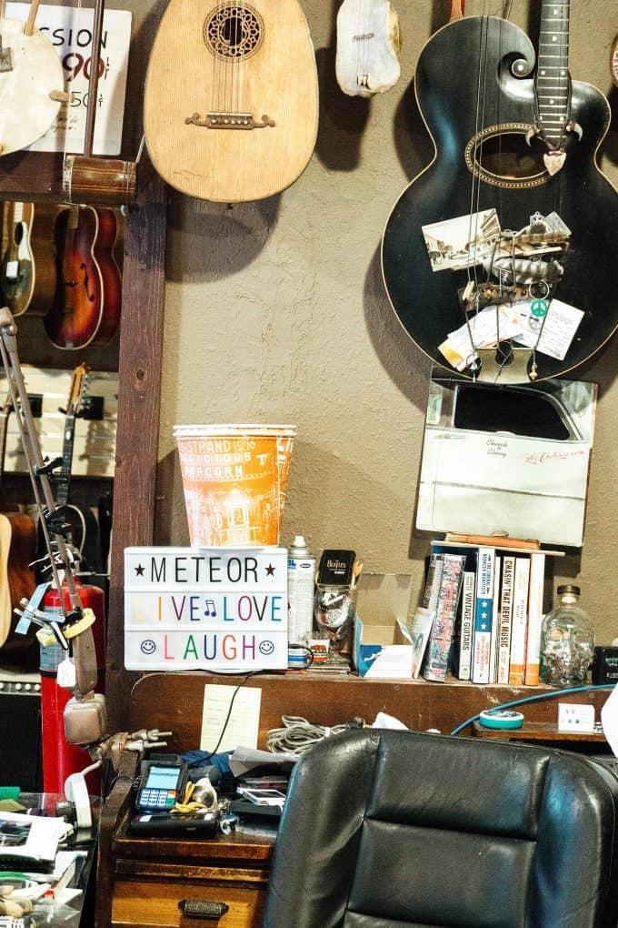 Meteor Guitar Gallery photo