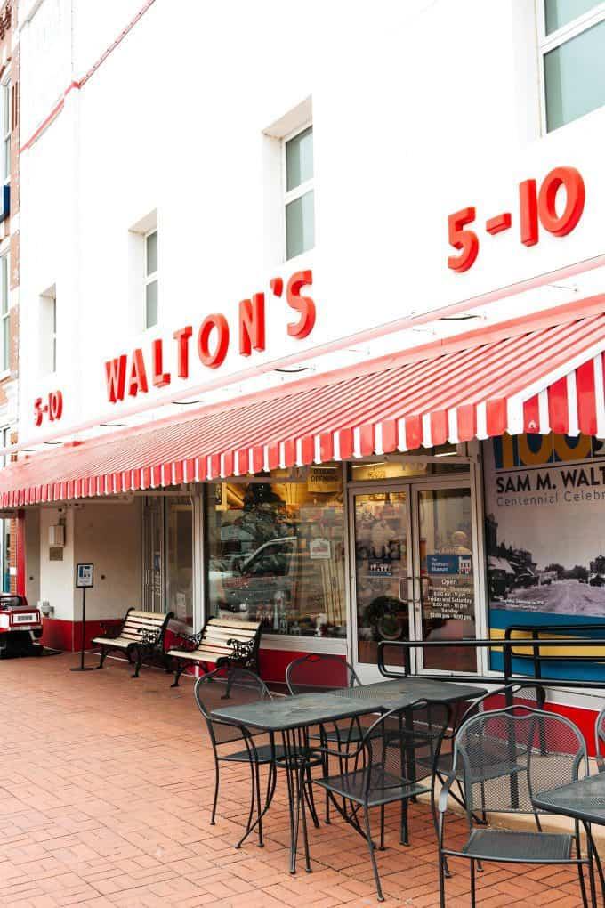Waltons 5-10 Bentonville
