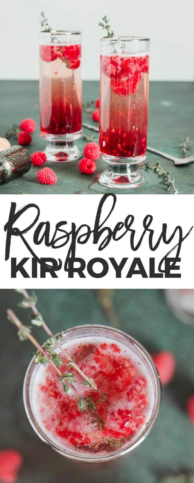 raspberry kir royale pin