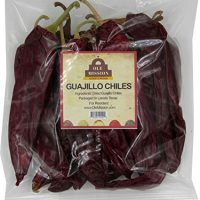Guajillo Chiles Peppers 4 oz Bag, Great For Cooking Mexican Chilli Sauce, Chili Paste, Red Salsa, Tamales, Enchiladas, Mole With Sweet Heat And All Mexican Recipes by Ole Mission