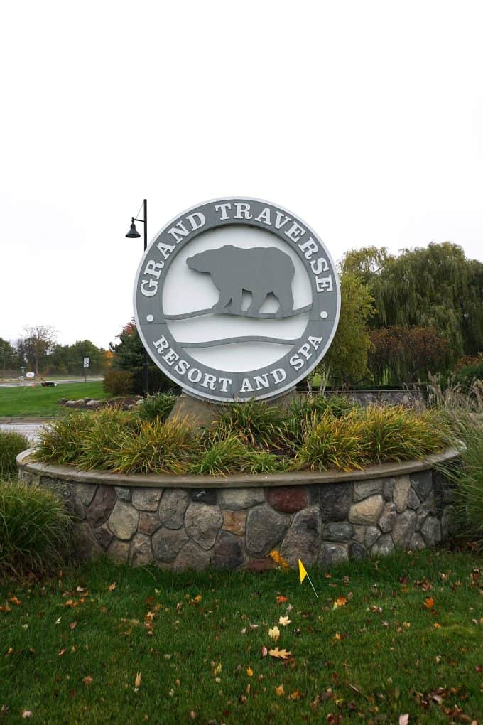 Grand Traverse Resort and Spa sign