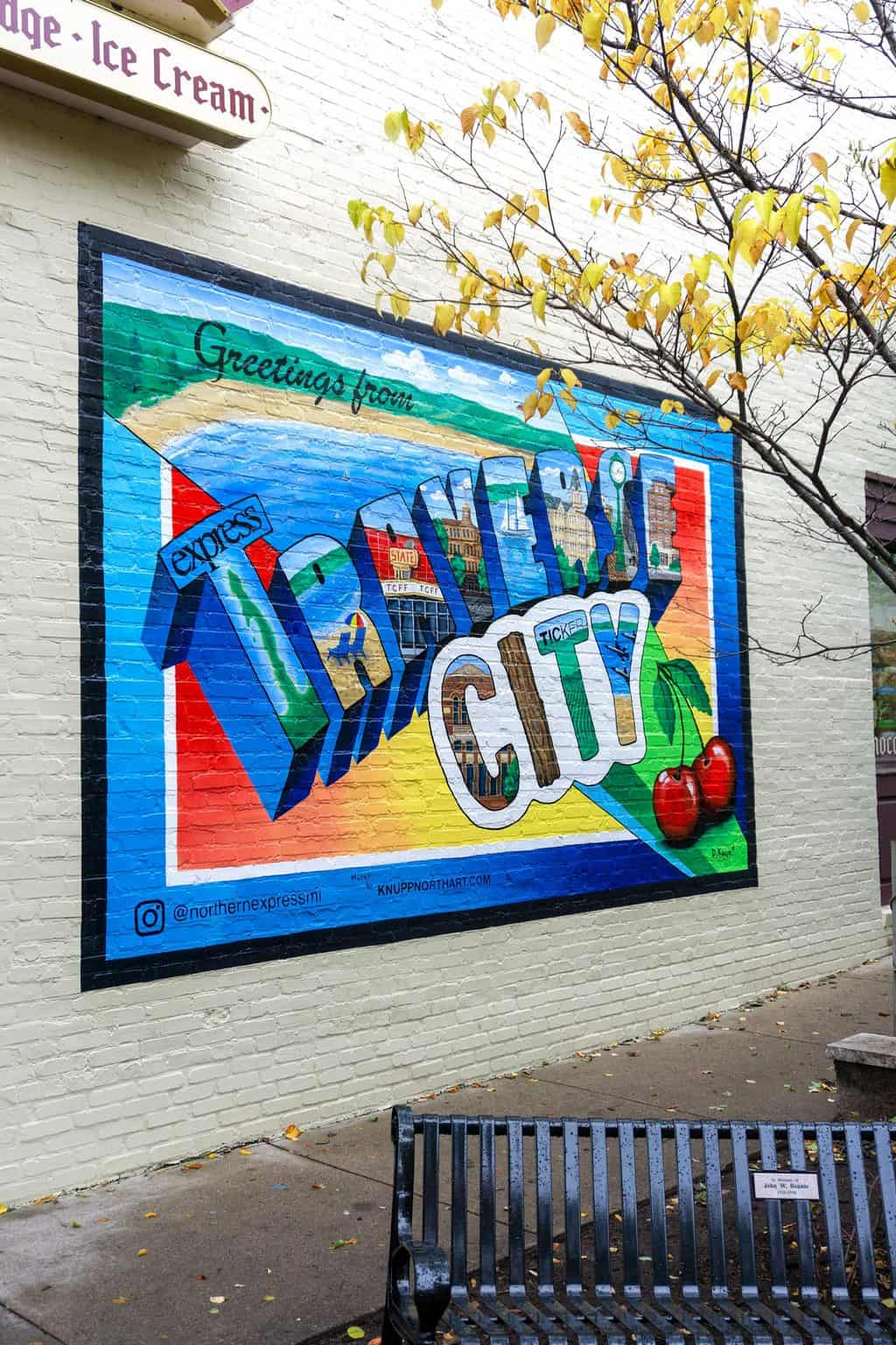 traverse city mural