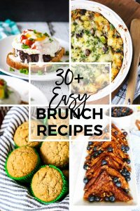 30+ Easy Brunch Recipes Pinterest collage