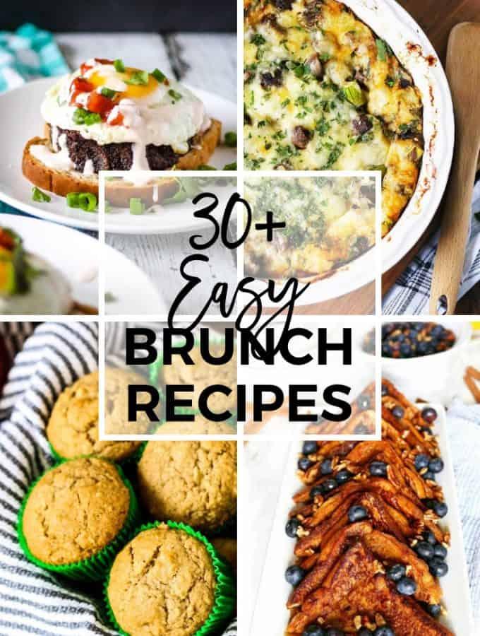 30+ Easy Brunch Recipes Pinterest collage