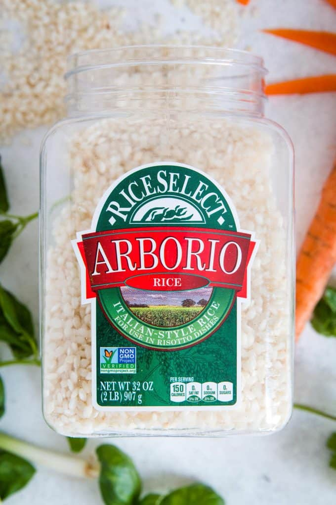 close up photo of RiceSelect arborio rice